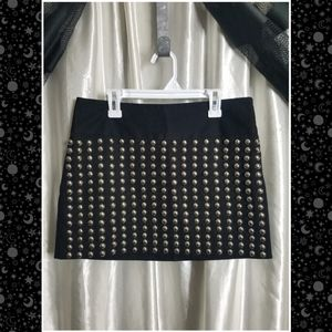 Britney Spears Studded Mini Skirt NWOT